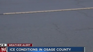 Osage County Ice Conditions - Video