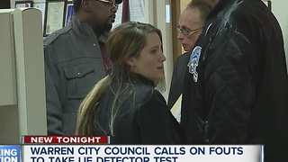 Fouts blasted at Warren city council meeting - Video
