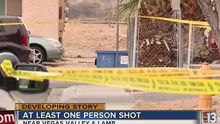 One person shot near Karen, Mountain Vista - Video