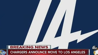 Ben Higgins discusses Chargers' move to Los Angeles - Video