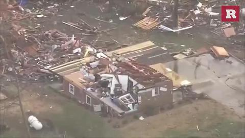 Deadly tornadoes hit central U.S. | Rare News