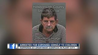 Deputies: Man exposes himself to kids at pool - Video
