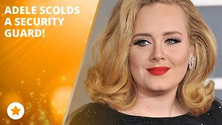 Adele: 'Stop telling people to sit down!'