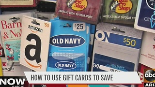 How to use gift cards to save - Video