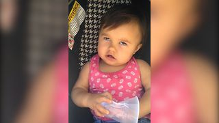 Baby Girl's Impressions Gets Great Laughs - Video