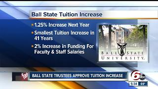 Indiana University, Ball State approve tuition increases - Video