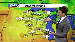 Meteorologist Josh Wurster's Saturday Forecast
