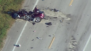 Chopper 5: Fatal crash on U.S. 441 in Okeechobee County - Video