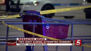 2 Robbed, Shot In Nashville Target Parking Lot - Video