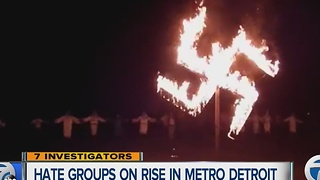 Hate groups on rise in metro Detroit - Video