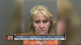 Hillsborough Co. pharmacist charged with DUI, drug possession - Video