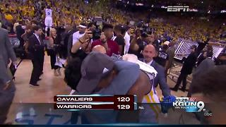 Former Wildcats Kerr and Iguodala win another title - Video