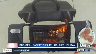 Safety tips for BBQ grills - Video