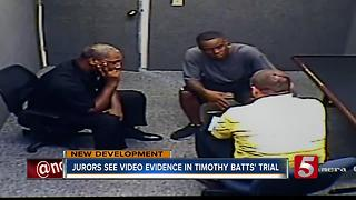 Jurors See Surveillance Video In Timothy Batts Trial - Video