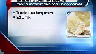 No heavy cream on hand? No problem! - Video