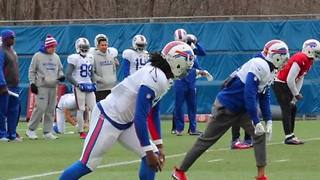 Sammy Watkins returns to Bills practice after nine week absence - Video