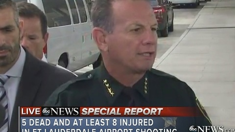 Sheriff discussing Ft. Lauderdale airport shooting