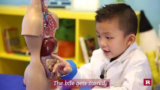 This 4-year-old genius knows a whole lot about poop | Anson's Answers - Video