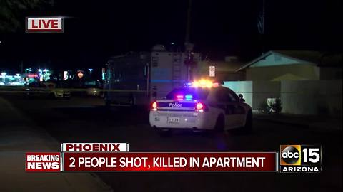 Two people shot and killed in Phoenix