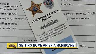 Barrier Island Re-Entry Passes: How Clearwater Beach residents, businesses can get them - Video