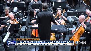 Las Vegas Philharmonic uses music to heal - Video