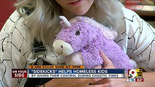'Sidekicks' helps homeless kids - Video