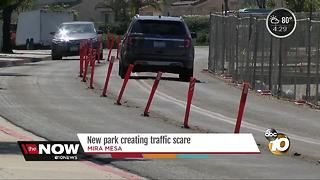 New Mira Mesa park creating traffic scare - Video