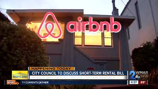 City Council to hold public hearing on short-term rental bill - Video