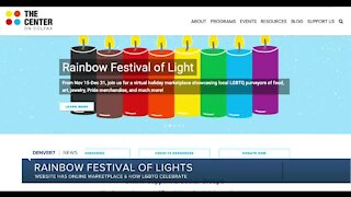 Rainbow Festival of Lights online marketplace of LGBTQ businesses