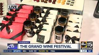 Enjoy wine and chocolate in downtown Phoenix this weekend