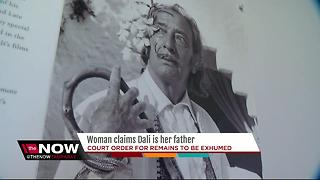 Woman claims Dali is her father