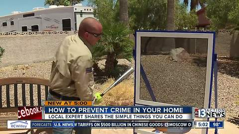 What you can do to protect your home from burglars