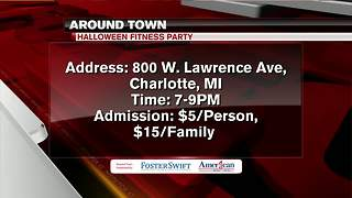 Around Town 10/26/17: Halloween Fitness Party in Charlotte