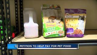 Petition to include animals in food stamps