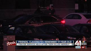 Friends, classmates remember 17-year-old