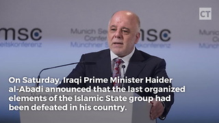 Iraq Declares ISIS Defeated - Video