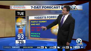 South Florida Tuesday morning forecast (7/25/17)