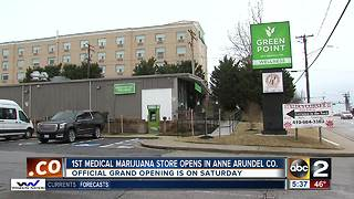 First medical marijuana dispensary opens in Anne Arundel County - Video