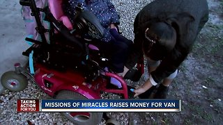 Missions of miracles raises money for van