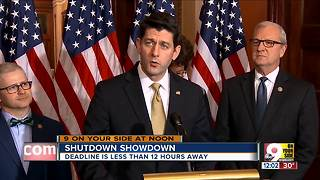 Shutdown showdown in Washington - Video