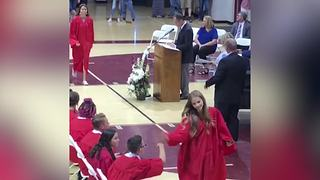 Hilarious Graduation Fail - Video
