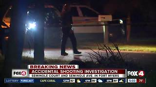 Accidental shooting investigation in Fort Myers - Video