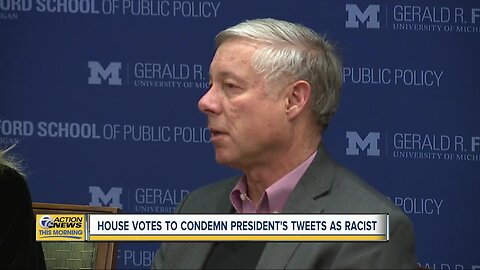 Michigan Rep. Fred Upton among 4 Republicans who voted to condemn President Trump over tweet