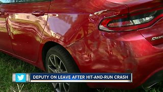 Pasco County Deputy on paid leave after hit-and-run crash