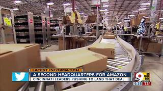 Does Cincinnati have what it takes to land Amazon headquarters? - Video