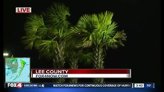 Hurricane Irma update from Lee County Emergency Operations Center - Video