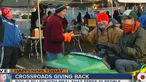 Crossroads Church gives back with 60,000 meals for those in need