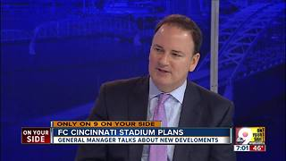 FC Cincinnati stadium search - Video