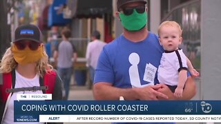 Coping with COVID roller coaster
