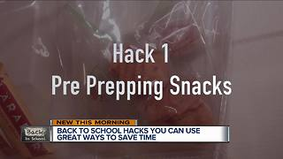 How you can gain extra time in the morning before sending kids back to school - Video